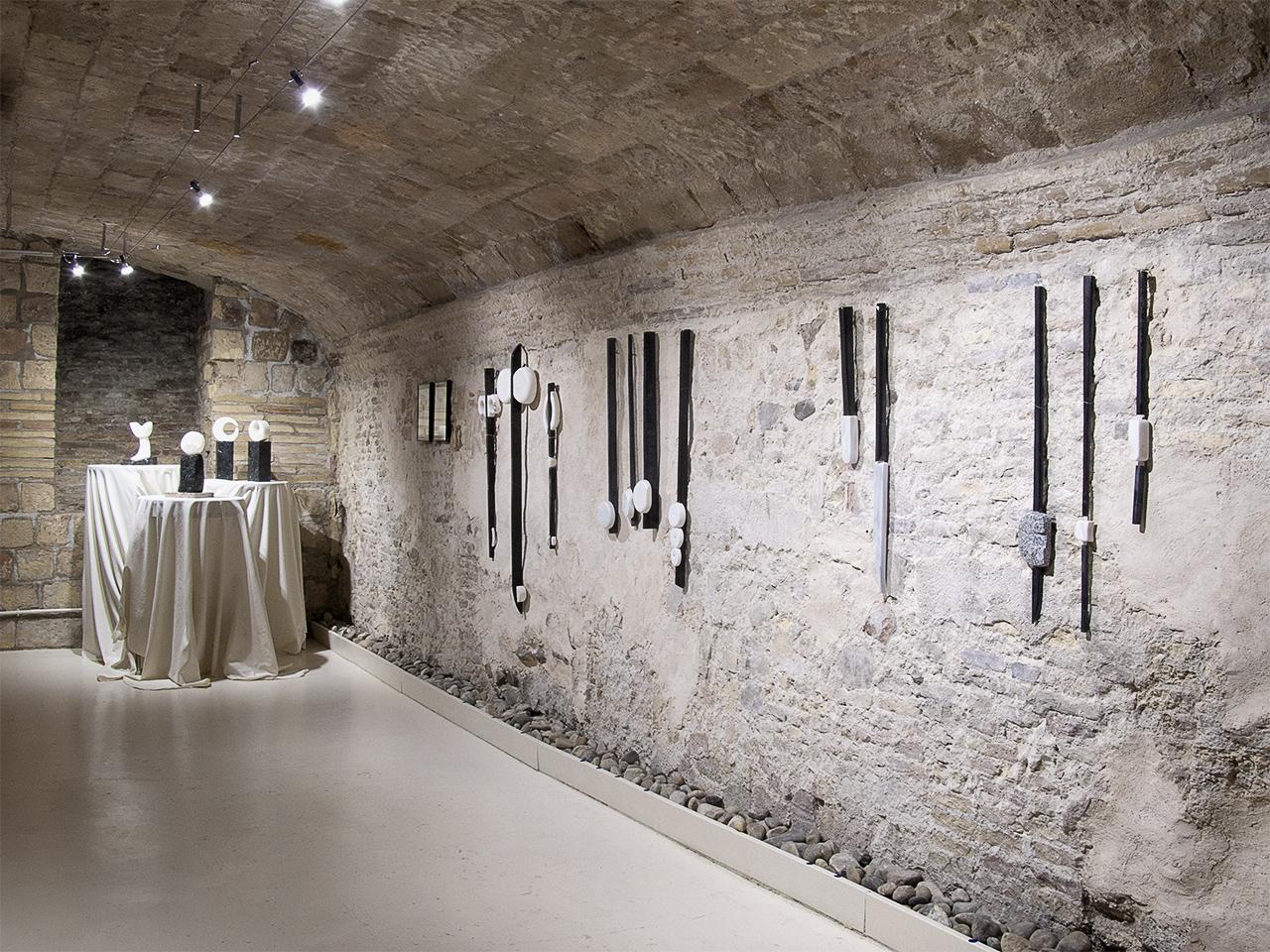 Vista de la exposición de Pedro Tramullas en Demodo Gráfico