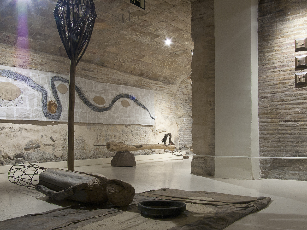 Vista de la exposición de Germán Díez en Demodo Gráfico