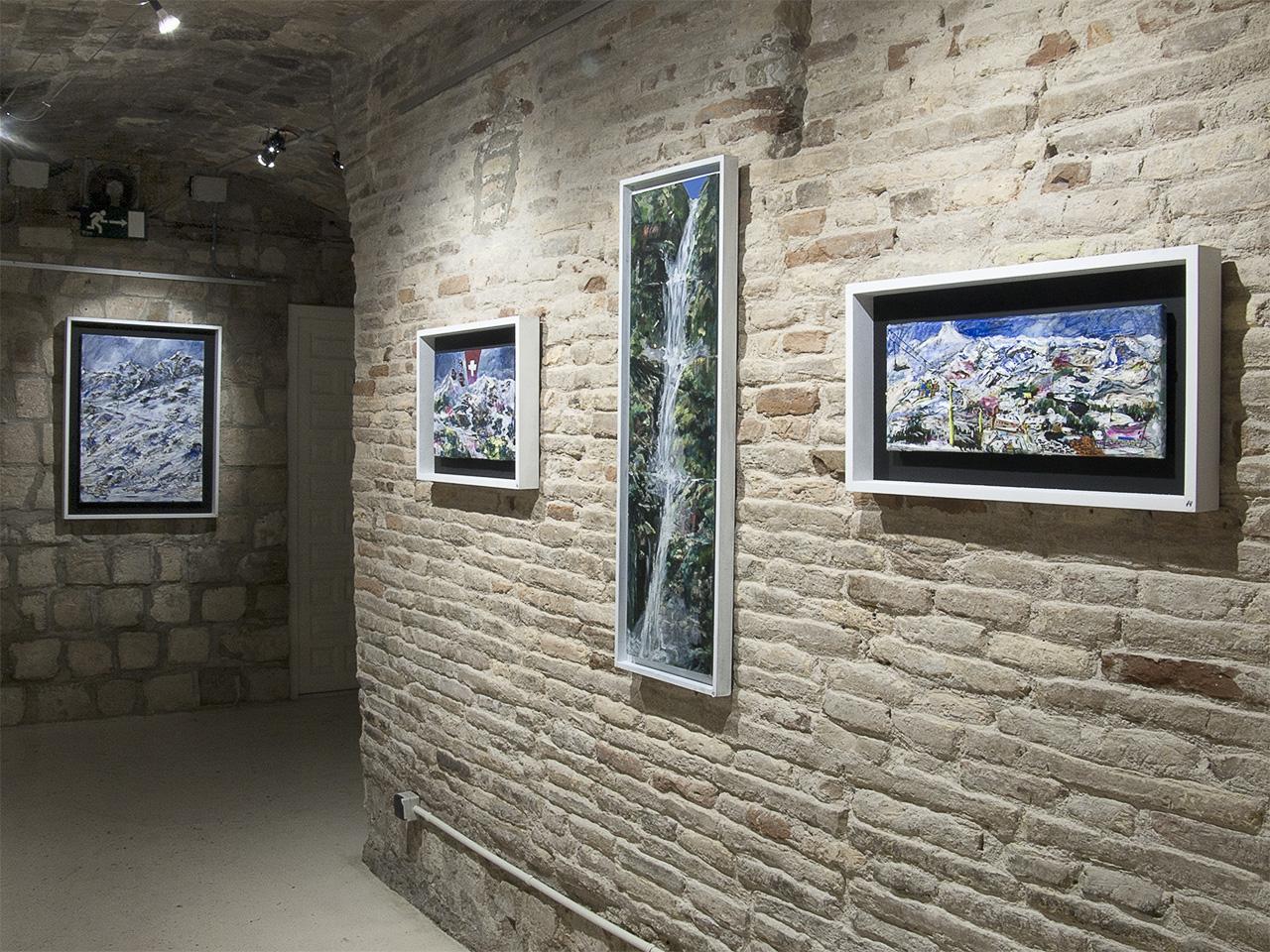 Vista de la Exposición de Miguel Ángel Arrudi en Demodo Gráfico