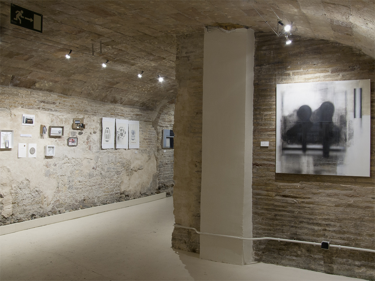 Vista de la exposición de Sergio Abrain en Demodo Gráfico