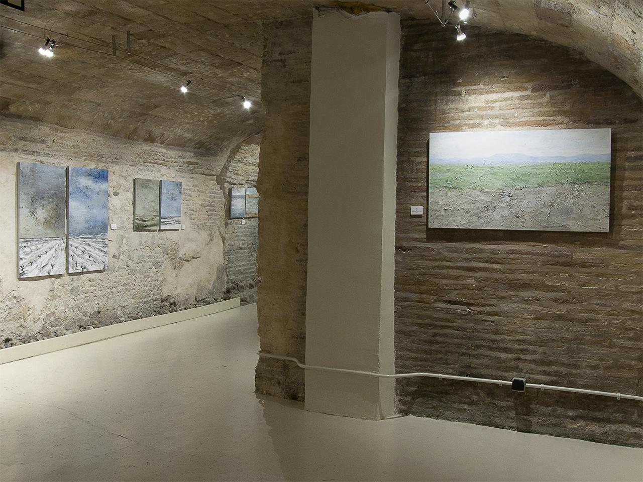 Vista de la exposición de Carlos López en Demodo Gráfico