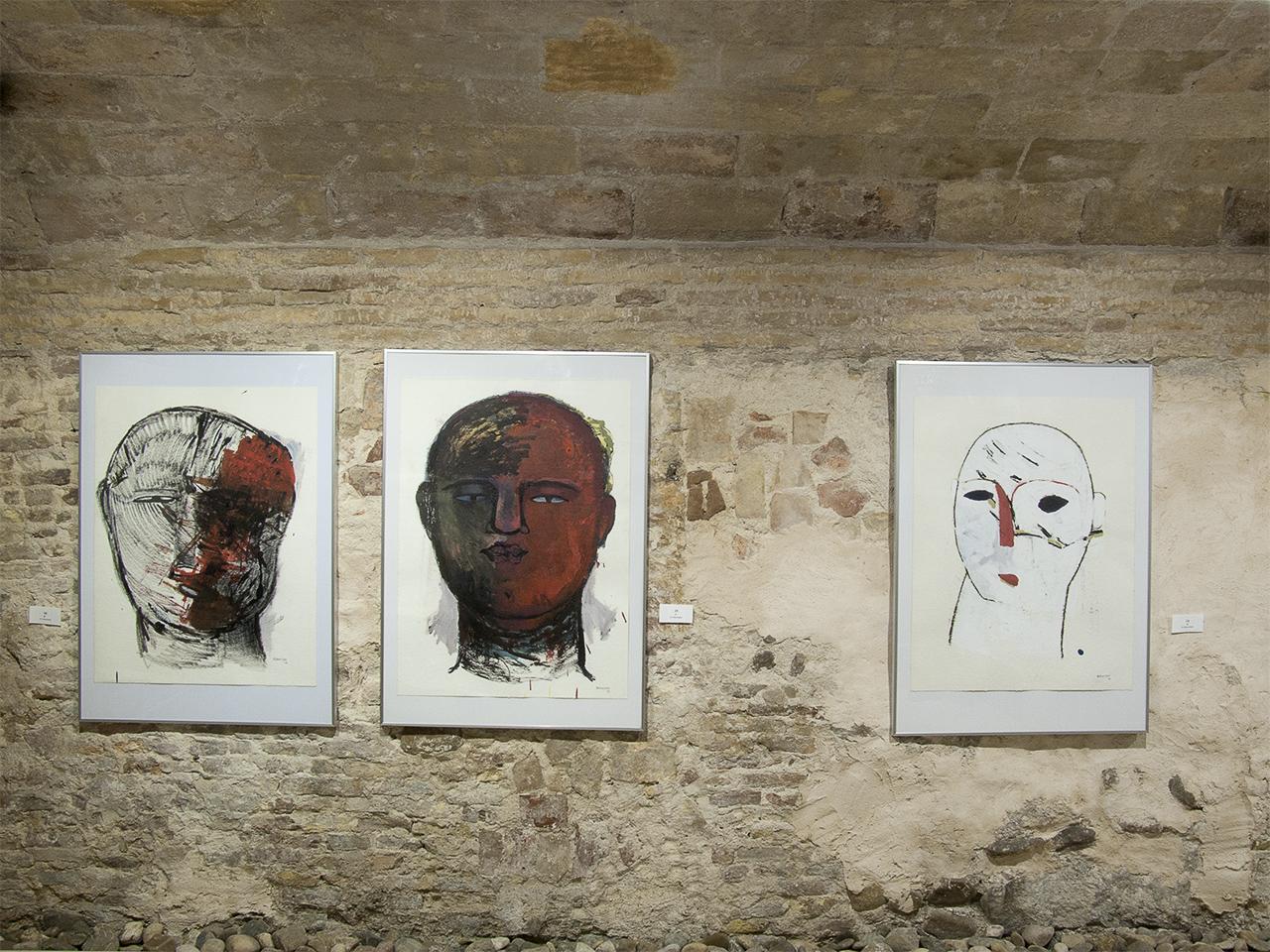 Vista de la exposición de Carmelo Rebullida en Demodo Gráfico